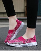 Fashion weave autumn sports Casual shoes for women