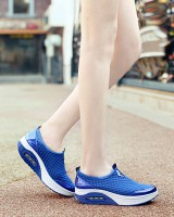 Air cushion sports shoes mesh platform shoes for women