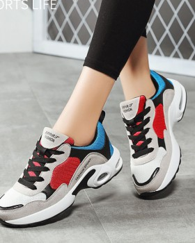 Fashion all-match shoes student mesh Sports shoes for women
