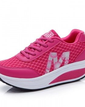 Breathable platform shoes Sports shoes for women