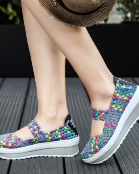 Korean style Casual shake shoes for women