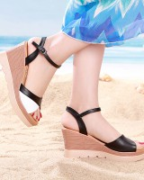 Thick crust sandals open toe platform for women