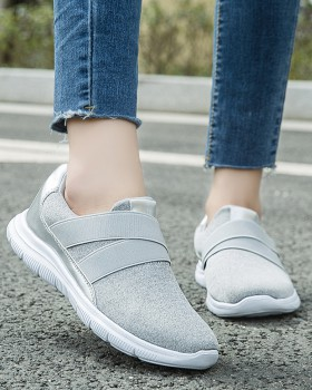 Mesh elderly Casual large yard summer low shoes for women
