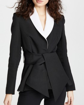 Spring and summer European style large yard business suit