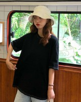 Short sleeve summer simple Korean style T-shirt