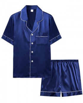 Homewear pajamas summer shorts 2pcs set for men