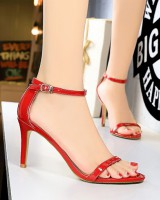 Open toe sandals high-heeled shoes for women