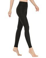 Pocket fitness pants wicking yoga pants for women