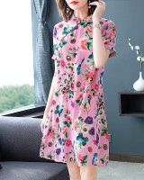 Chinese style summer Chinese full dress maiden dress