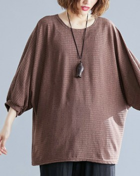 Short sleeve loose T-shirt pure all-match shirts