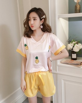 Homewear Casual conventional pajamas a set