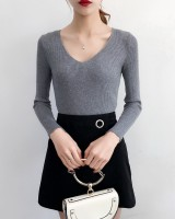 Slim autumn and winter bottoming shirt pullover tops