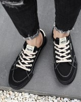 Korean style board shoes canvas shoes for men