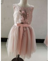 Child summer dress baby Korean style lady dress