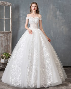 Dream wedding dress Korean style formal dress for women
