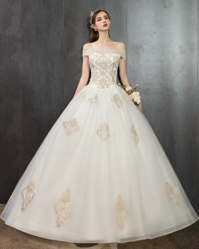 Beautiful wedding dress light formal dress for women