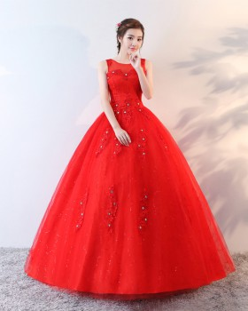 Beautiful light wedding dress for women