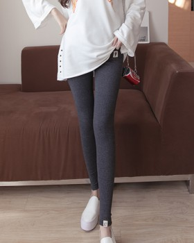 Slim wool spring and autumn kitten pregnant woman leggings
