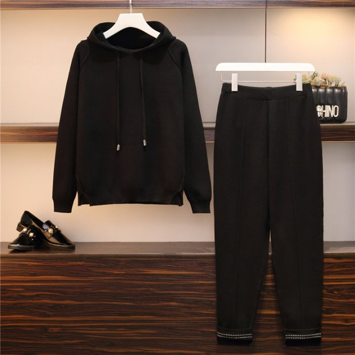 Long sleeve long pants 2pcs set for women
