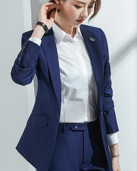 Slim profession couples business suit a set for women
