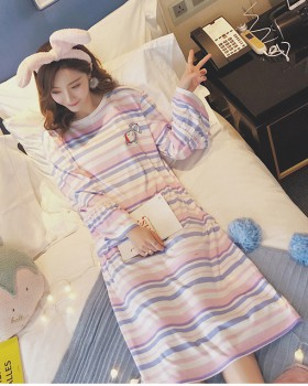 Milk silk pajamas homewear night dress a set for women
