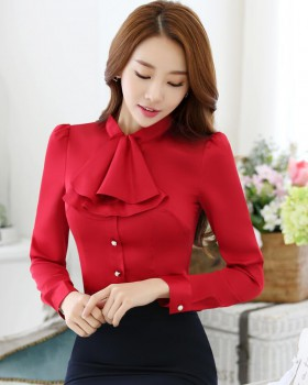 Long sleeve autumn business suit slim shirt for women