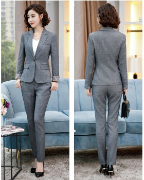 Autumn and winter overalls temperament business suit a set