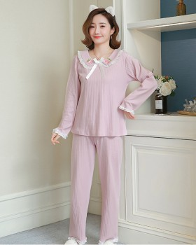 Lace homewear pajamas 2pcs set for women