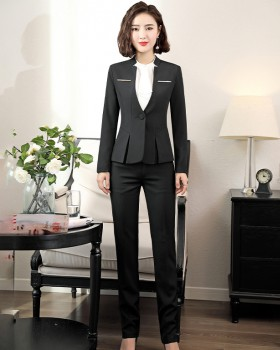 Temperament overalls business suit a set for women