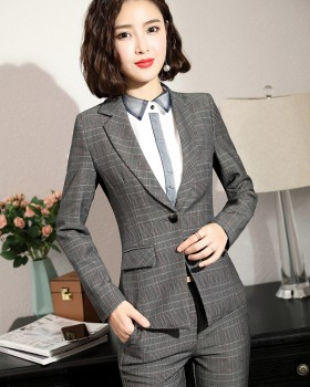 Fashion temperament overalls business suit a set for women