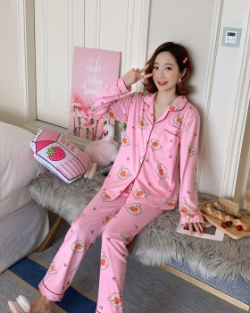 Cotton homewear pajamas 2pcs set for women