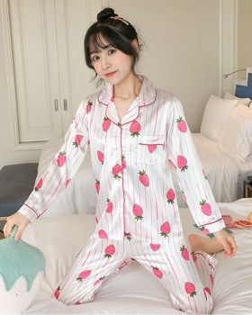 Refreshing night dress Japanese style pajamas a set