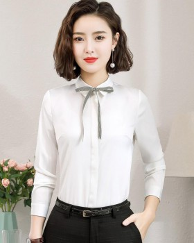 Bottoming spring business suit slim shirt for women