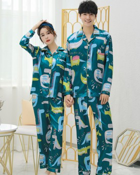 Unisex spring and summer homewear pajamas 2pcs set