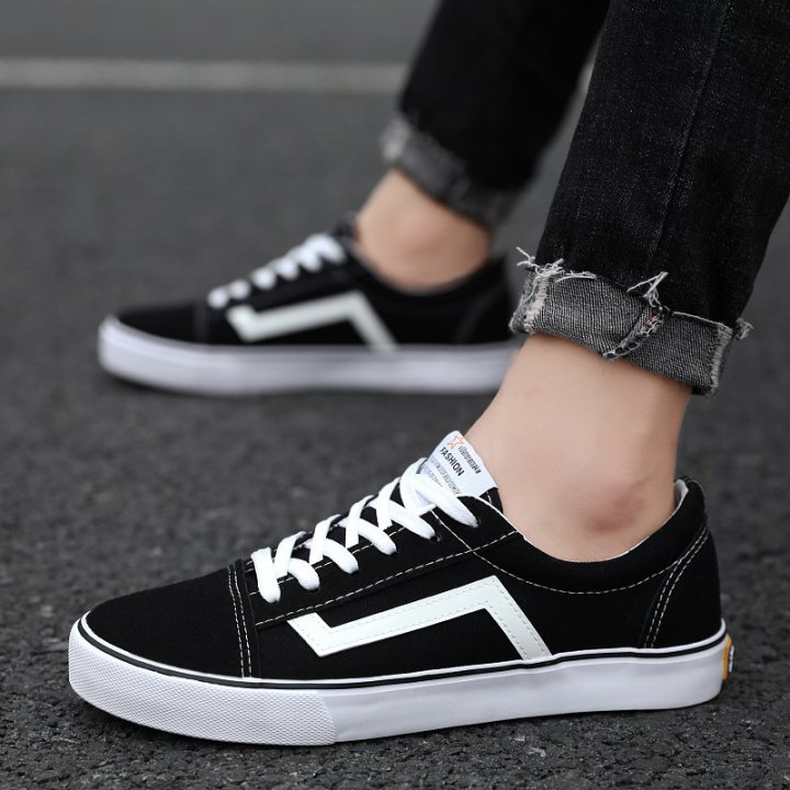 Student Casual shoes Korean style canvas shoes for men