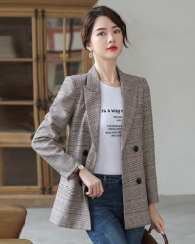 Retro British style tops Korean style coat for women
