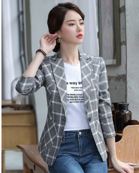 All-match Casual business suit summer tops for women