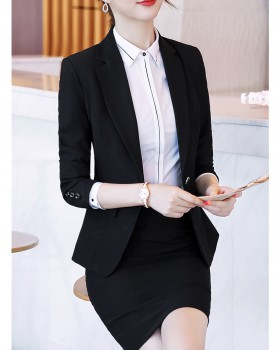 Autumn and winter business suit 3pcs set for women