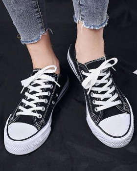 Couples Korean style shoes student canvas shoes for women