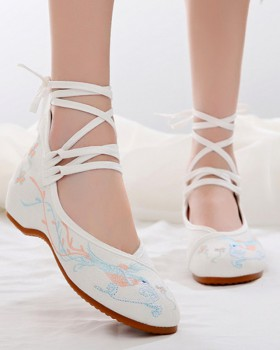 Within increased cloth shoes shoes for women