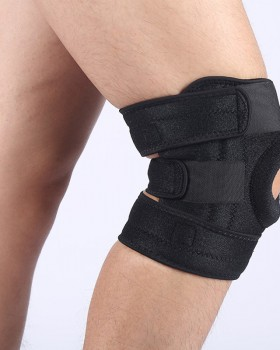 Fitness protect brace knee sports couples adjustable kneepad