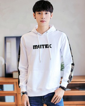 Long sleeve pullover shirts fashion hoodie for men