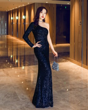 Ladies bride dream evening dress long party formal dress