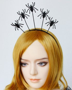 Spider queen hair rope halloween devil hair accessories