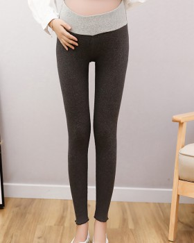 Pregnant woman pure cotton low-waist all-match leggings