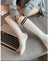 Autumn and winter slim cotton college style socks