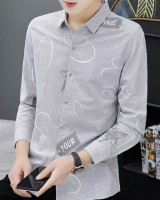 Fashion long all-match youth autumn and winter shirt