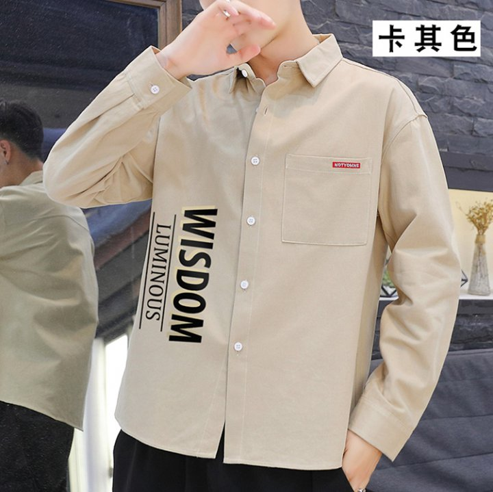 Mens Short Sleeve Shirt Mens Workwear Casual Handsome Loose Camouflage Shirt
