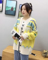 Long lazy coat Korean style thick sweater for women