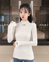 Autumn and winter sweater bottoming shirt for women